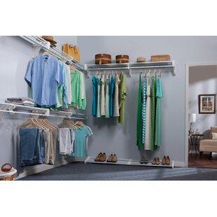Wall Mounted Closet Shelves | Wayfair
