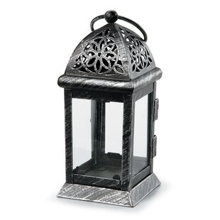 Bloomsbury Market Distressed Metal Lantern
