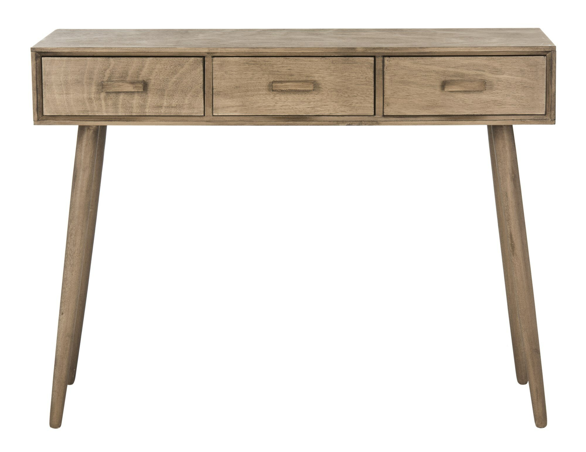 concepts wicker drawer in stores end metal stand table beyond