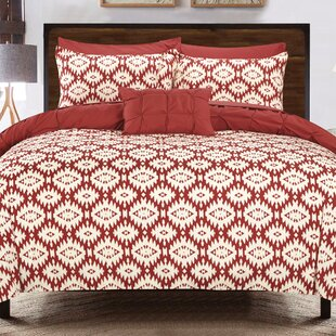 Burney 4 Piece Reversible Duvet Cover Set