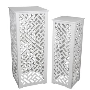 Wabansia 2 Piece Cut Out Nesting Tables by B..