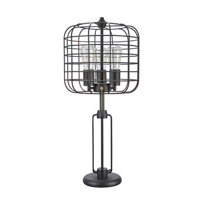 Williston forge gary wire cage metal 26 table lamp wayfair gary wire cage metal 26 table lamp greentooth Choice Image