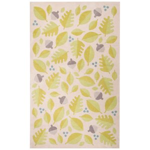 Annie Green/Ivory Area Rug