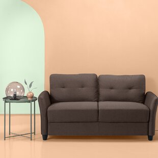 Helwig Contemporary Standard Loveseat by Winston Porter