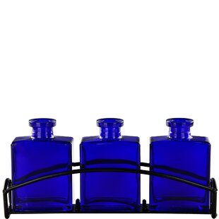 Rio 3 Piece Glass Table Vase Set