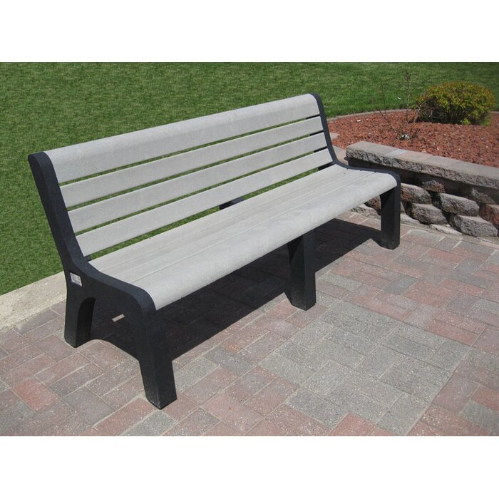 Freeport Park Sierra Plastic Park Bench Wayfair Ca
