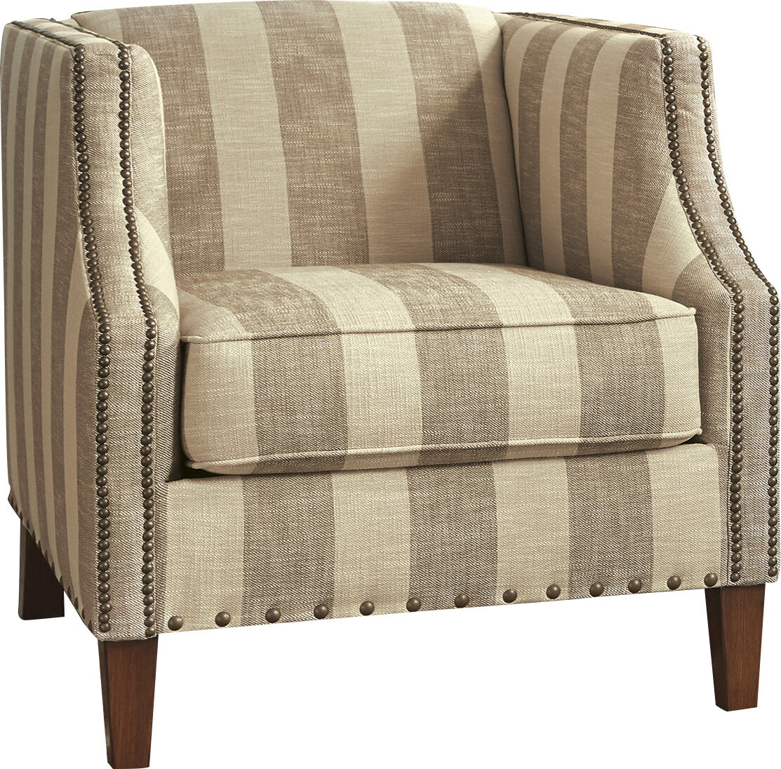 Superieur Darby Home Co Tallmadge Striped Armchair U0026 Reviews | Wayfair