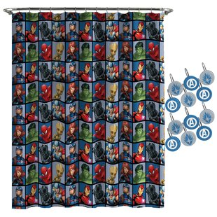 Marvel Avengers Team Shower Curtain