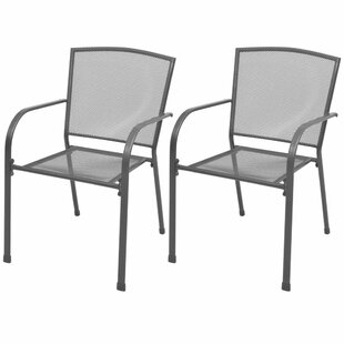Bakalyan Stacking Garden Chair (Set Of 2) By Sol 72 Outdoor