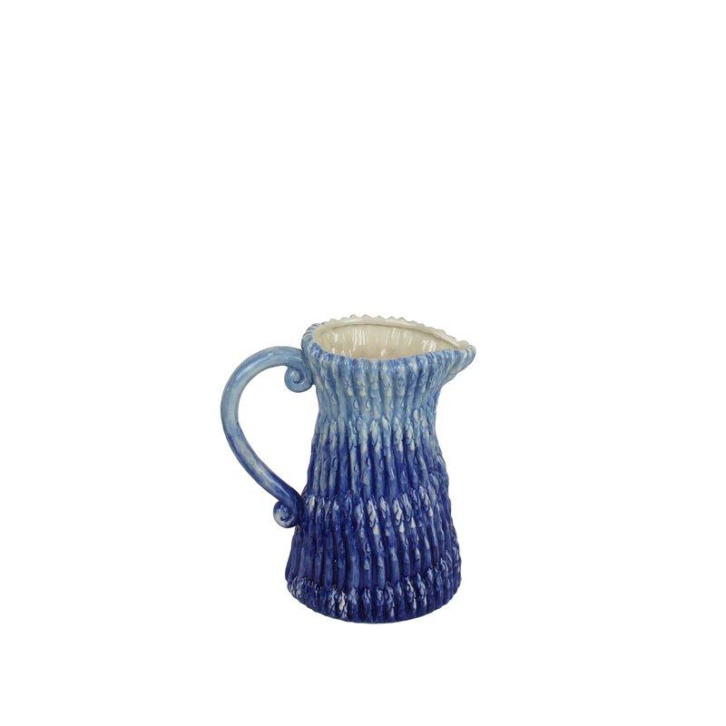 Bloomsbury Market Fiora Decorative Ceramic Pitcher Wayfair Fascinating Decorative Ceramic Pitchers