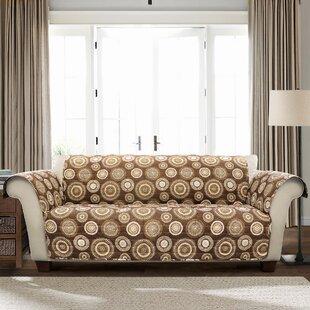 Winston Porter Single T-Cushion Sofa Slipcover