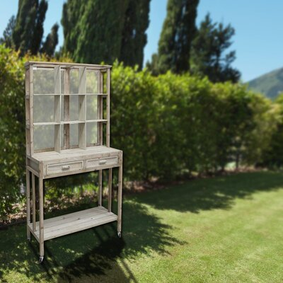 Wooden Potting Bench Alpine