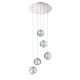 Spumante 5-Light Pendant by Kendal Lighting