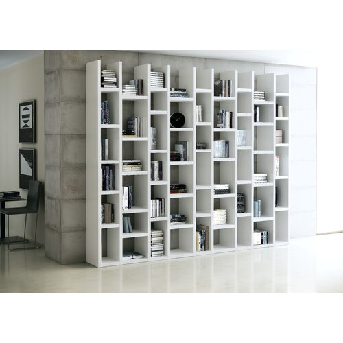 Bücherregal Jena Ebern Designs Farbe: Weiß | Wohnzimmer > Regale | Ebern Designs