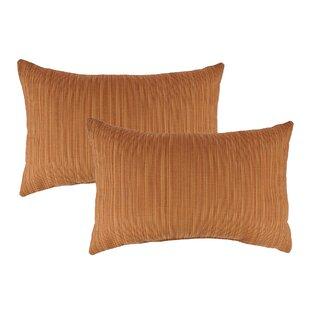 Dupione Outdoor Sunbrella Lumbar Pillow (Set of 2)