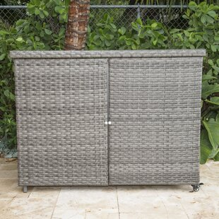 Panama Jack Outdoor Graphite Cabinet