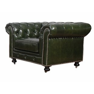 Kilie Virginia Chesterfield Chair by 17 Stories