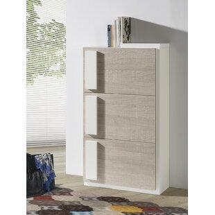 Minnesota 24 Pair Shoe Storage Cabinet By Ebern Designs