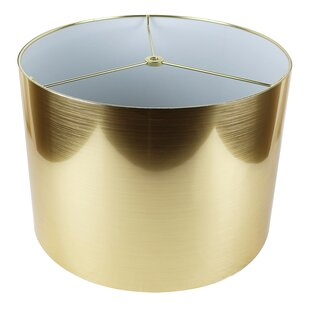 Gold metallic lamp shade wayfair save to idea board aloadofball Gallery