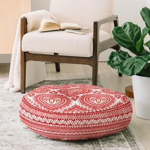 Adair Decorative Round Floor Pillow