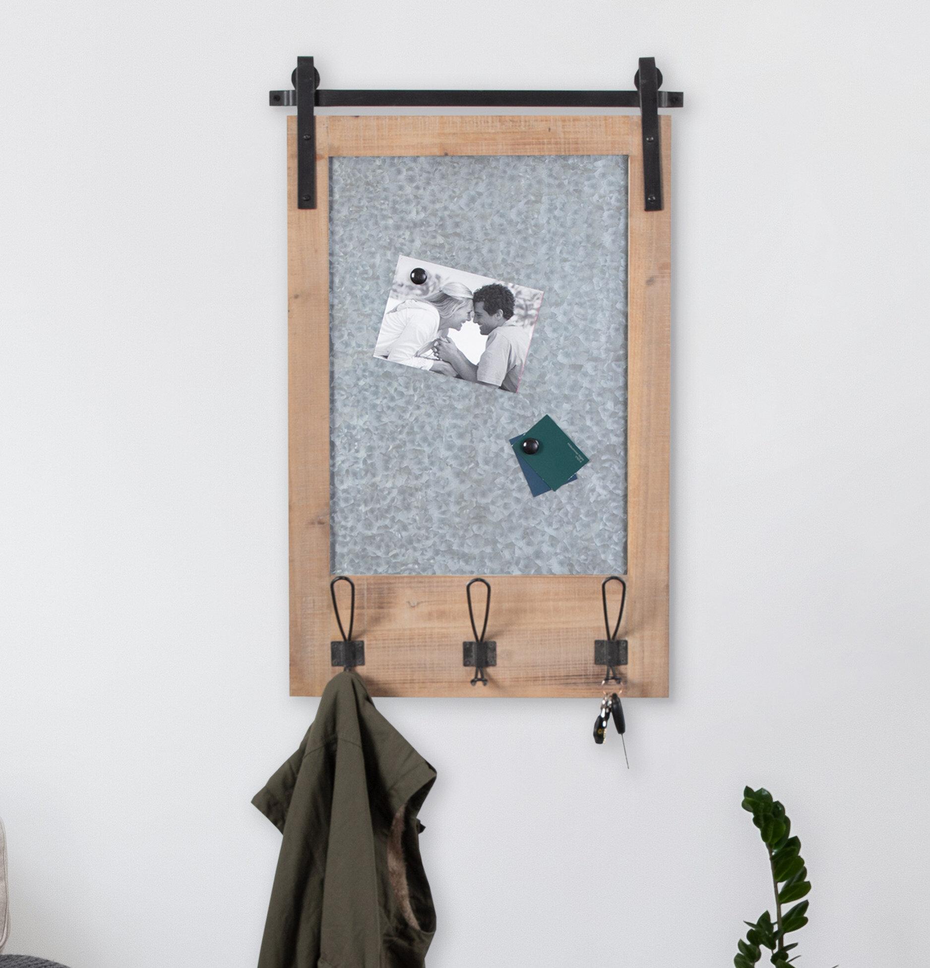 Gracie Oaks Banbury Magnetic Wall Mounted Combo Board