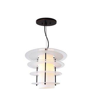 Woodbridge Lighting Layers 1-Light Geometric Pendant