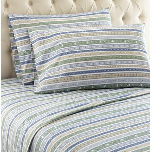 Rocket Striped Sheet Set