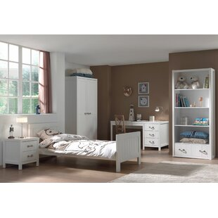 Aldrich 90 X 200cm 5-Piece Bedroom Set By Harriet Bee