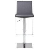 Braxton Swivel Adjustable Height Stool by Orren Ellis