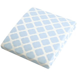 Reviews Flannel Fitted Play Pen Sheet ByKushies Baby