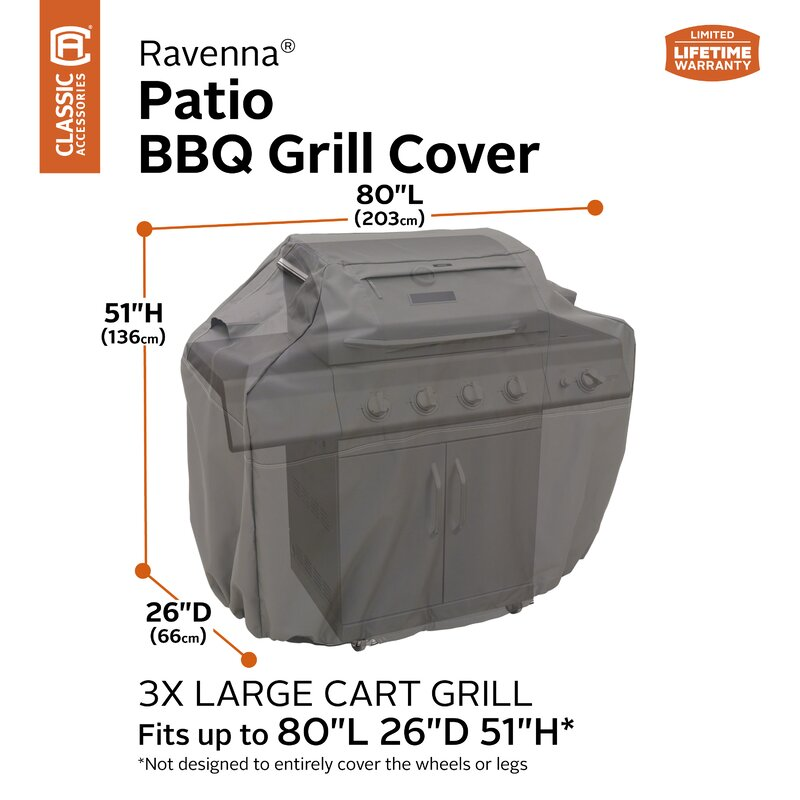 Freeport Park Kendala Bbq Grill Cover Fits Up To 82 Reviews Wayfair