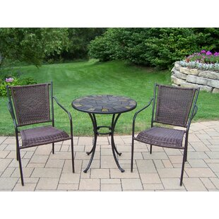 Stone Art 3 Piece Bistro Set