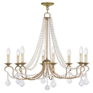 Willa Arlo Interiors Devana 8-Light Chandelier