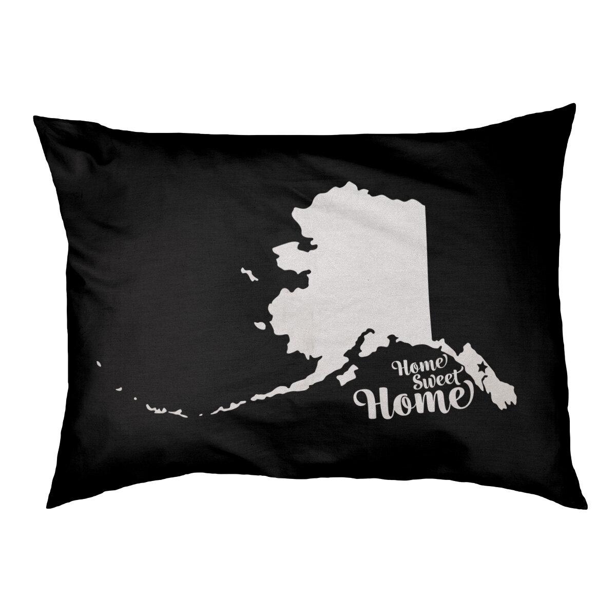 East Urban Home Home Sweet Juneau Outdoor Dog Pillow Wayfair