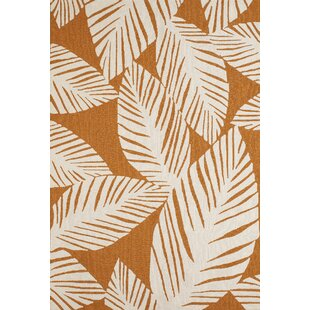 Palm Coast Hand-Woven Spice Indoor/Outdoor Area Rug