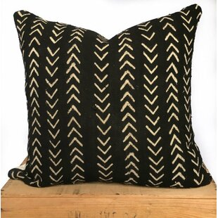 Craney Mud Cloth Cotton Pillow Cover