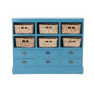 Beachcrest Home Verlene 6 Drawer Storage Accent Chest