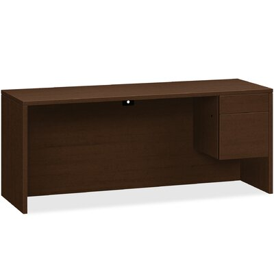 10500 Series Executive Desk HON Color Mocha Orientation Right