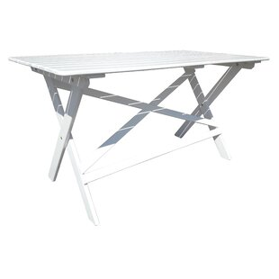 Darla Wooden Dining Table By Sol 72 Outdoor