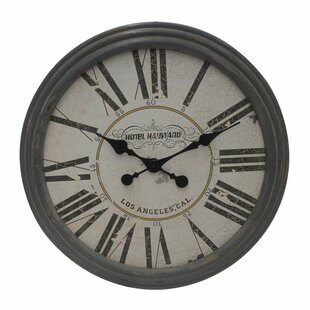 Classic Wooden Clock by Woodland Imports