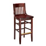 Beechwood School House Wood Seat Bar & Counter Stool by Regal