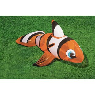 Bestway Inflatable Clownfish Ride-On By Freeport Park
