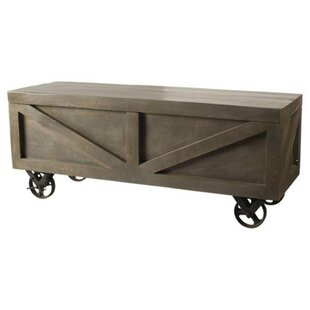 Hartell Wood Storage Bench by Gracie Oaks