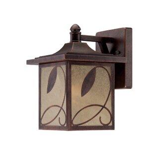 Charlton Home Krier 1-Light Outdoor Wall Lantern