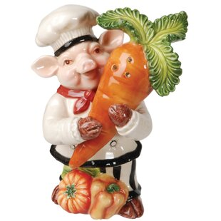Bistro Couchon Chef Pig Salt and Pepper Set