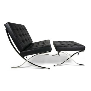 Wimbush Lounge Chair and Ottoman