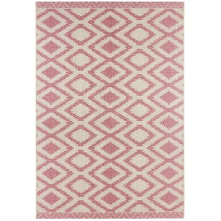 Botany Flat-Woven Beige/Red Rug by bougari