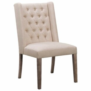Sessoms Button Tufted Upholstered Dining Chair (Set of 2) by One Allium Way
