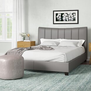 Emilio Pebble Channel Upholstered Platform Bed