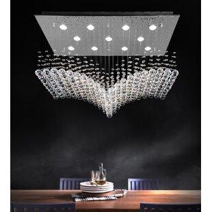 CWI Lighting Twinkle 11-Light Flush Mount